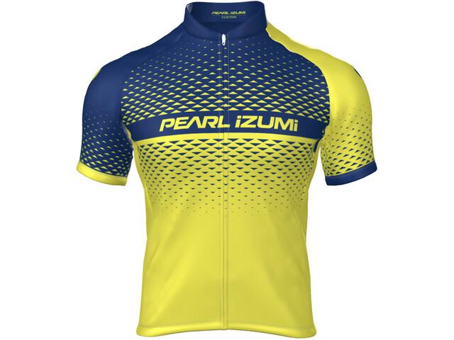 PEARL iZUMi Select Escape LTD Full-Zip Jersey Hombre, pearl izumi screaming yellow/navy